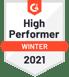 G2 high performer winter 2021