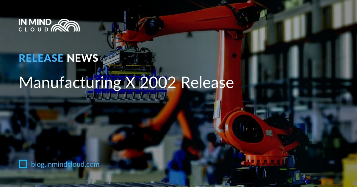 Manufacturing X 2002 Release